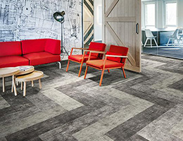 Forbo Flotex Planks Concrete
